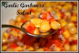 Garlic Garbanzo Salad
