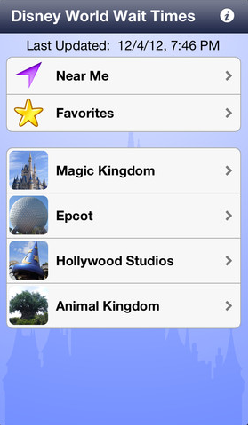 Disney-Wait-Time-App