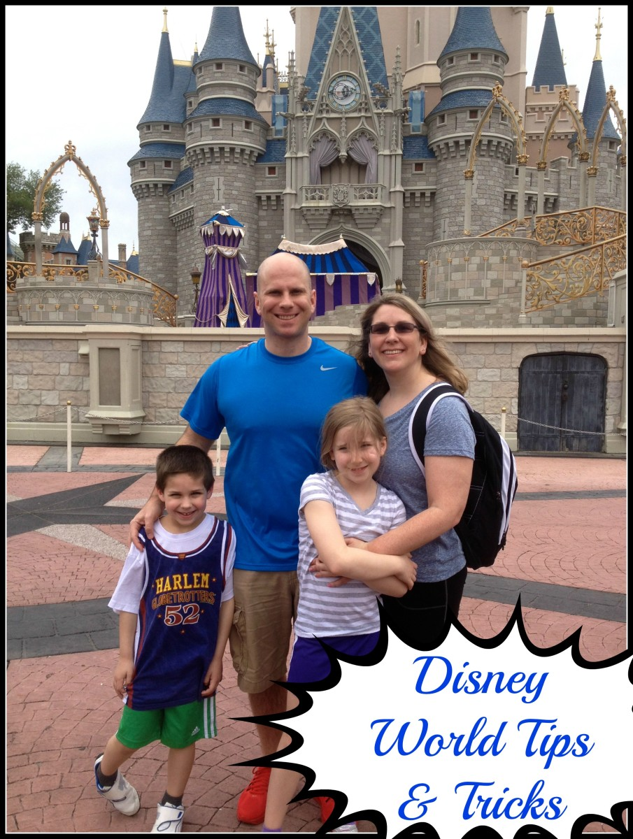 Disney World Tips and Tricks from Mama Luvs Books!