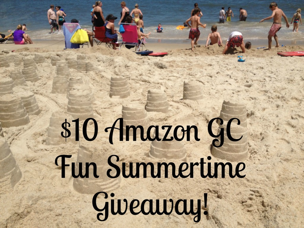 $10 Amazon GC Fun Summertime Giveaway