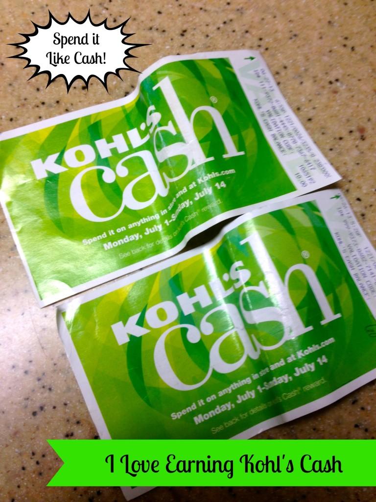 when is kohls cash