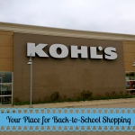 Kohl's for Back-to-School Shopping