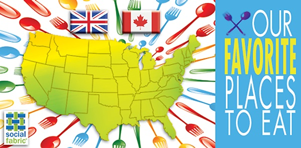Restaurants Blog Hop Favorite Places to Eat Across the Country!