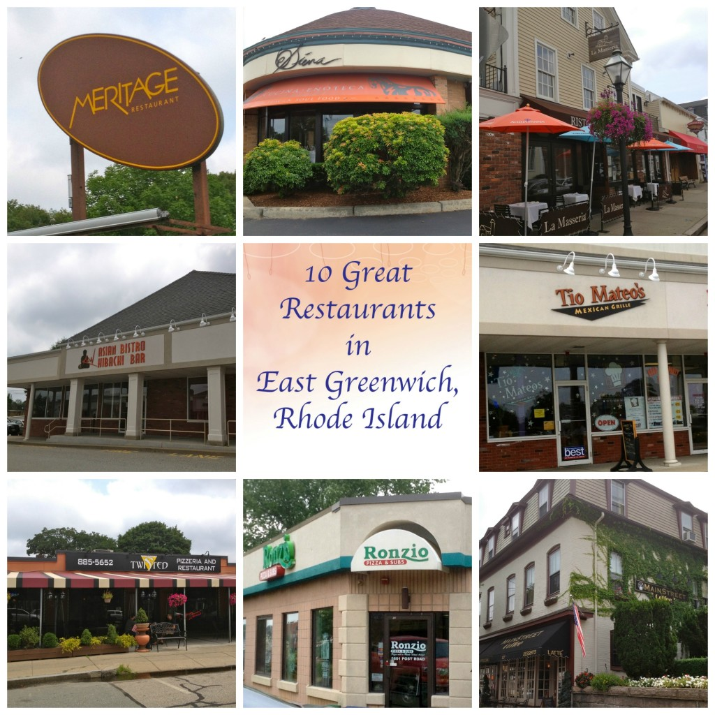 10 Great Restaurants in East Greenwich, RI