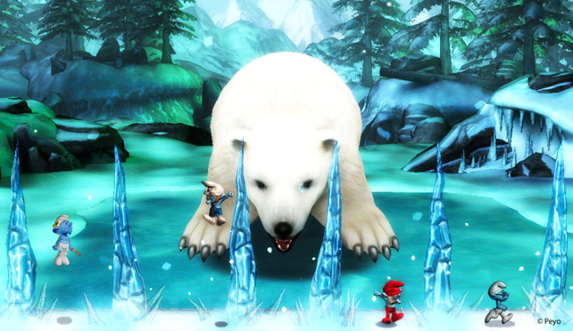 Smurfs 2 Wii Game