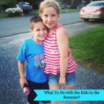What To Do with the Kids in the Summer from Mama Luvs Books