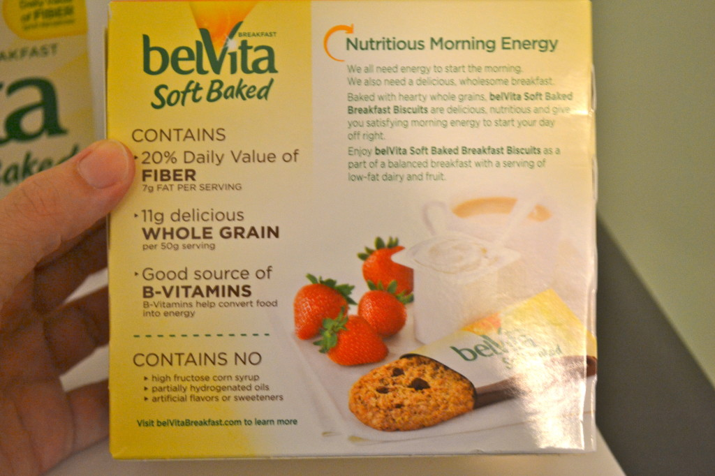 belVita Soft Baked Breakfast Biscuits