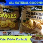 McCain All Natural Potato Products for your Meals