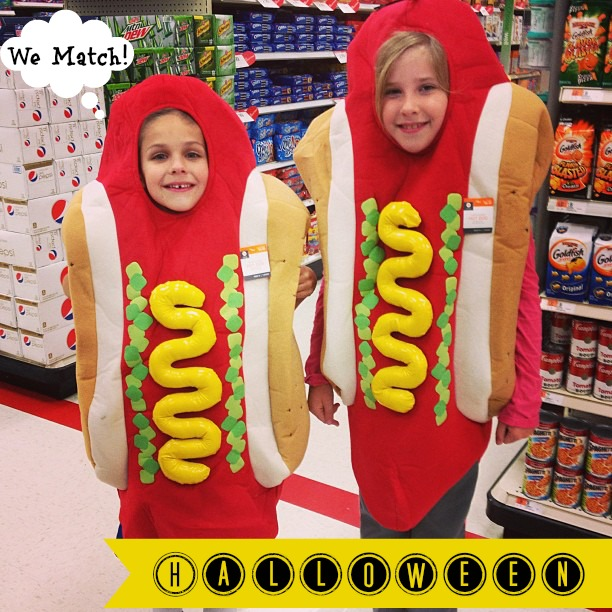 Halloween Outfits Hot Dogs by, Mama Luvs Books