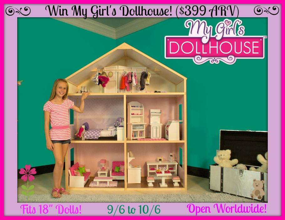 my girls dollhouse awesome giveaway a great gift for the holidays mama luvs books - Christmas Gifts For 18 Year Old Girl