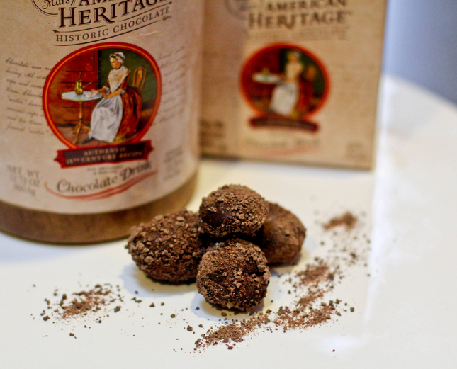 American Heritage Chocolate Truffles