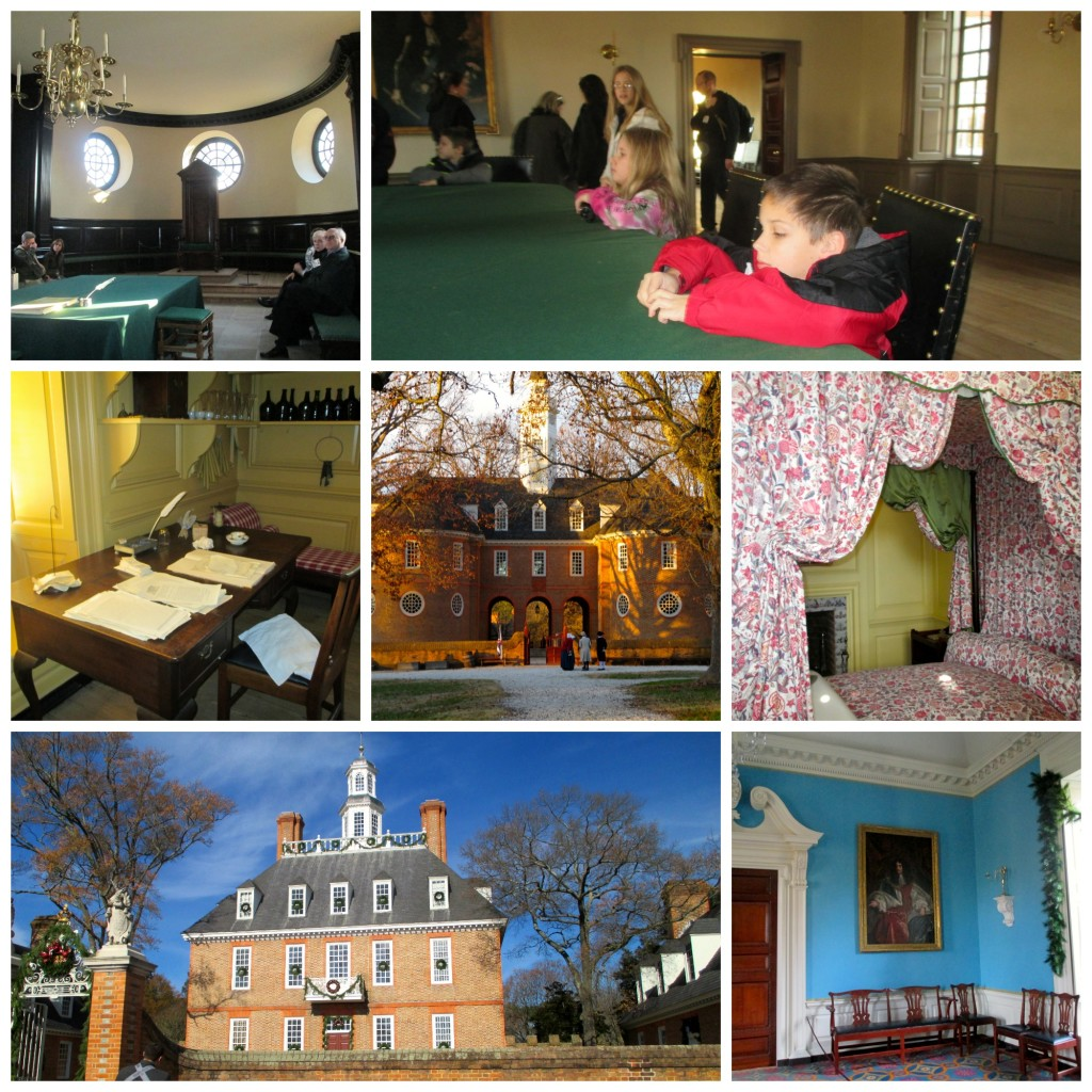 Tours in Colonial Williamsburg