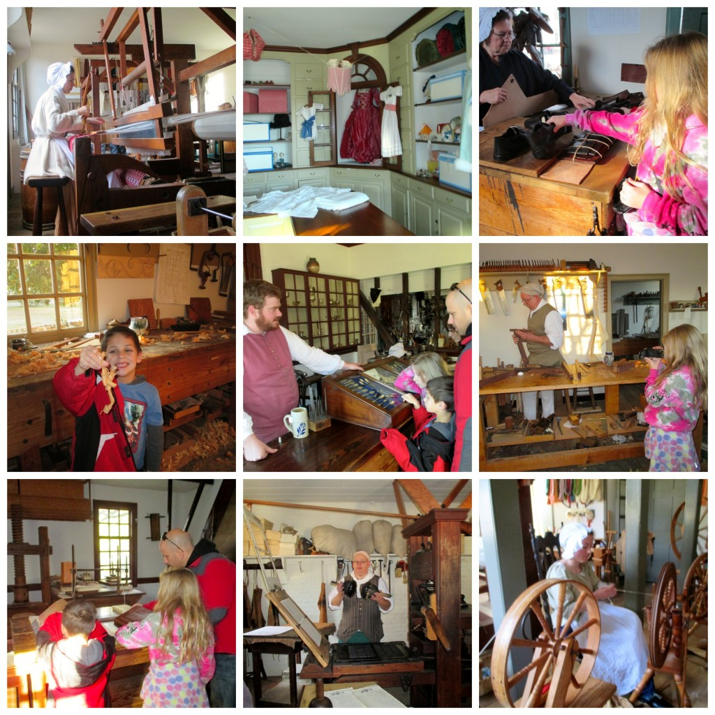 Trades in Colonial Williamsburg