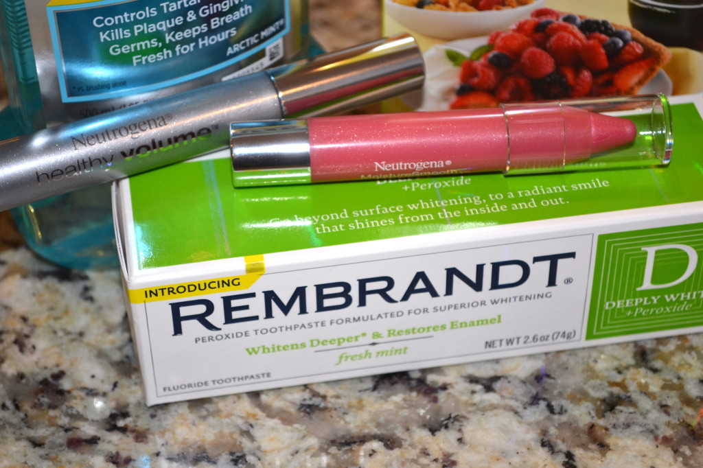 REMBRANDT® DEEPLY WHITE® + Peroxide Fresh Mint Toothpaste