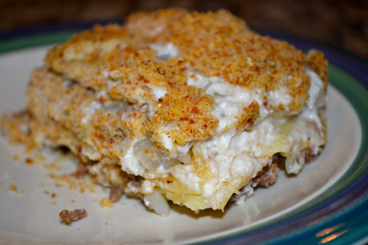 Beef Stroganoff Lasagne with Hood Sour Cream #Sponsored