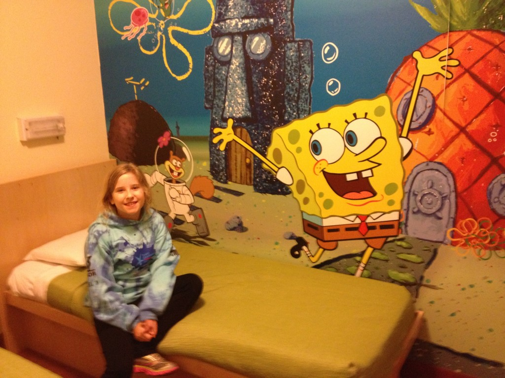 Nickelodeon-Suites-Spongebob-Room