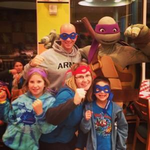 Teenage-Mutant-Ninja-Turtle-Dinner