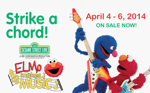Sesame Street LIVE at PPAC in Rhode Island {Ticket Giveaway}