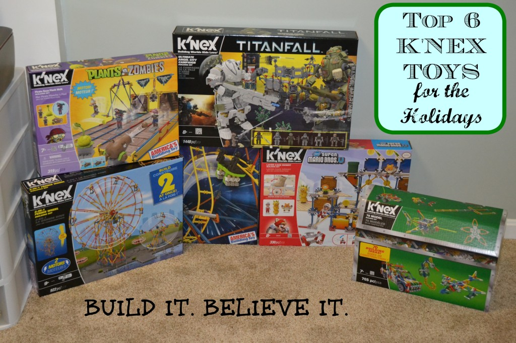 Toys For Holidays : K nex for the holidays top toys