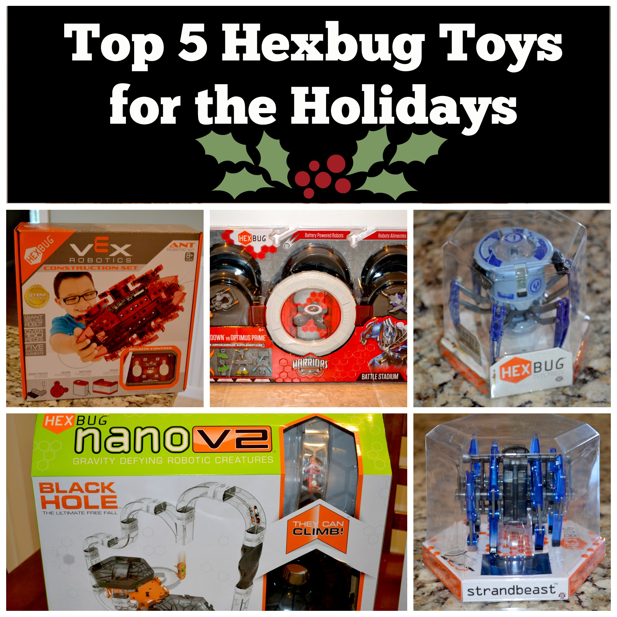 Toys For Holidays : Top hexbug toys for the holidays mama luvs books