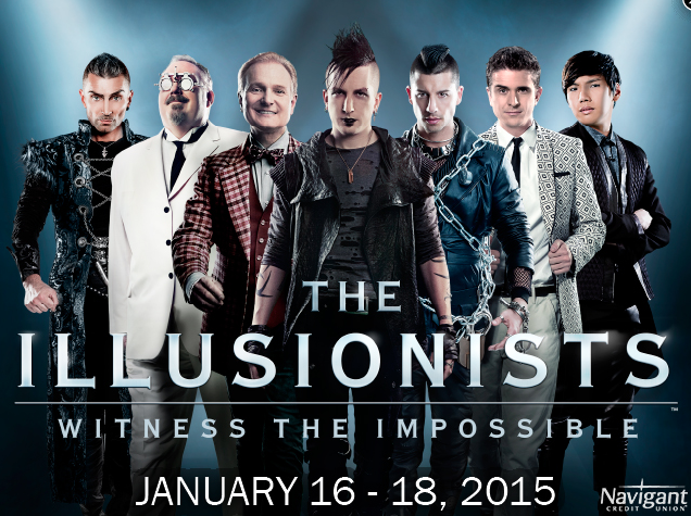 THE ILLUSIONISTS: WITNESS THE IMPOSSIBLE at PPAC in RI