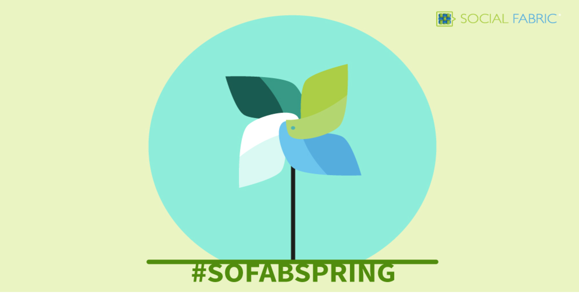 Spring is Here! Find Some Inspiration! #SoFabSpring