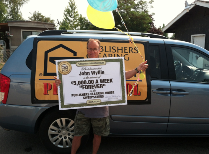 Publishers Clearing House Sweepstakes ~ Win $5,000 A Week Forever