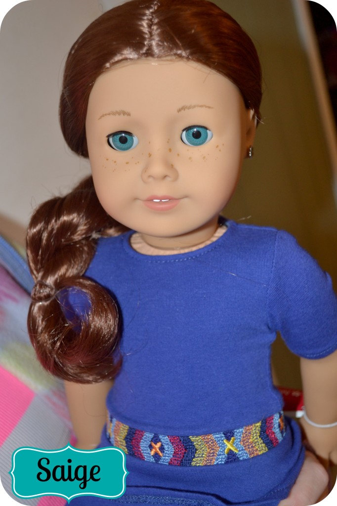 Holiday Gift Guide American Girl Doll Of The Year Saige